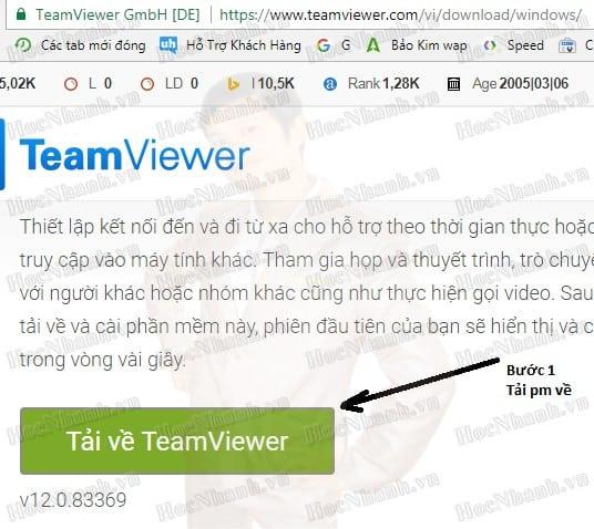 teamviewer bản mới nhất
