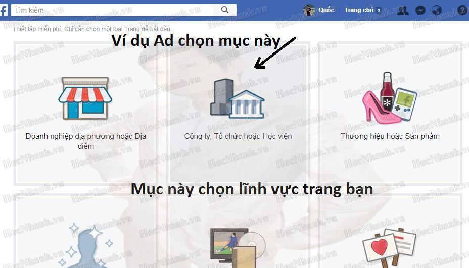 Cach tạo fanpage facebook như thế nào