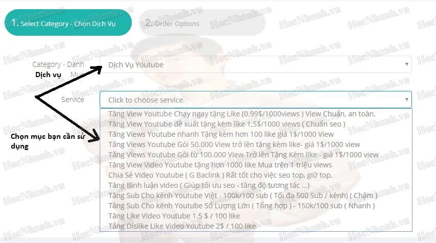 tăng lượng view trên youtube