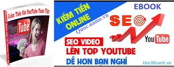 Cach Kiem Tien tren Youtube va Seo Video len top Ebook