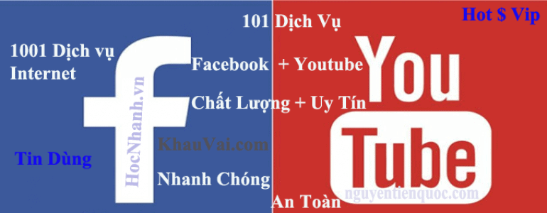 Dich Vu Tang View Youtube Va Facebook