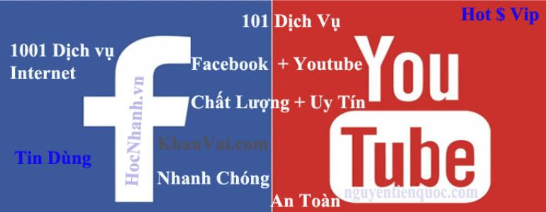 Dich Vu Tang View Youtube Va Facebook