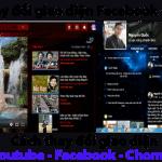 Hướng dẫn cách thay đổi giao diện Facebook , Youtube, Chome cực hay