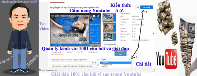 Giai dap support thac mac Youtube Viet Nam