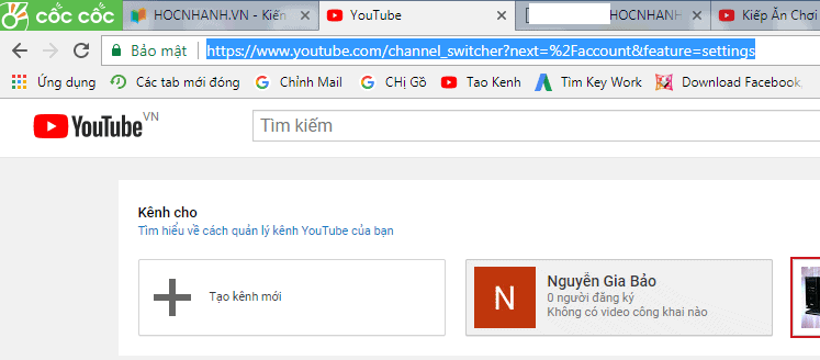 Tao Kenh Youtube Moi