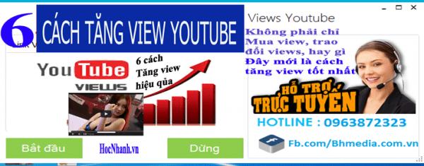 6 cach tang view Youtube hieu qua va nhanh
