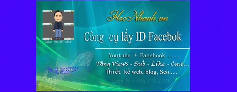 Cach Lay id bai viet Facebook