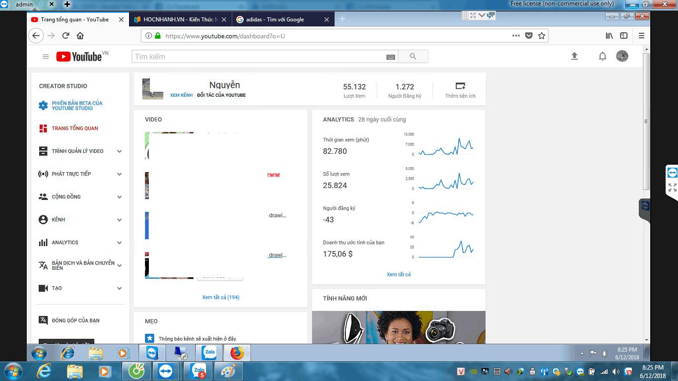 1000 lượt xem Youtube nước ngoài được bao tiền