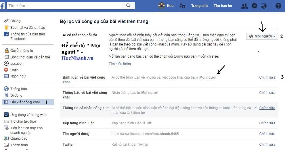 Cach tang luong theo doi tren Facebook hieu qua