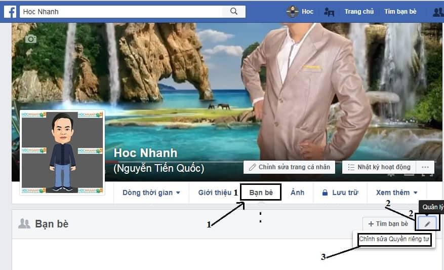 Chinh sua tang tuong tác like bai viet