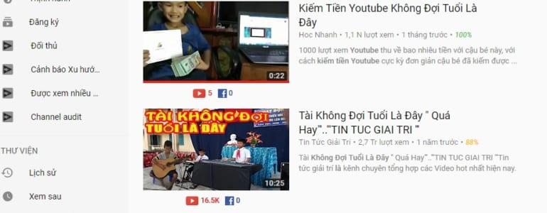 Ly do nen kiem tien tu Video Quang Cao