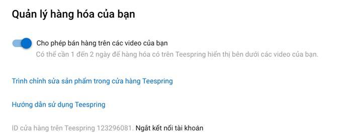 Ban hang Hoa Tren Video Youtube