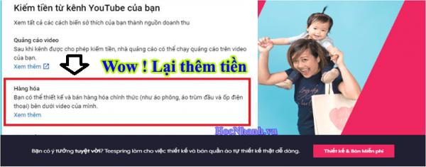 Kiem Tien Ban hang hoa Youtube