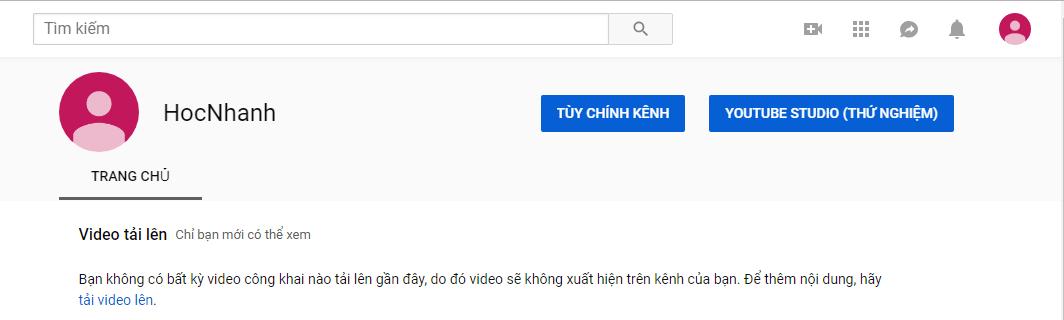 Tao Kenh Moi Youtube