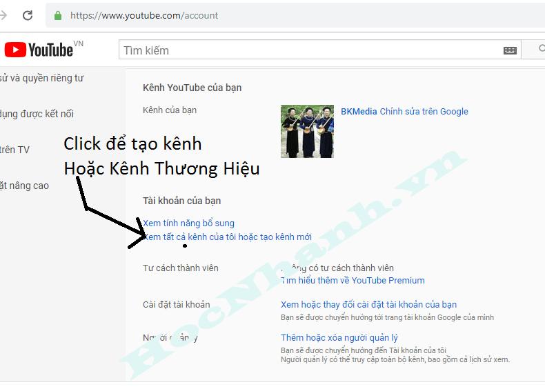 Tao Kenh Thuong Hieu Youtube