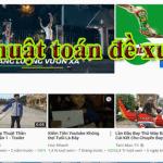 Bí mật thuật toán đề xuất video Youtube P1