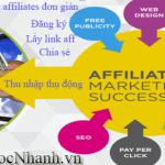 Hướng dẫn kiếm tiền affiliate với web uy tín mới nhất