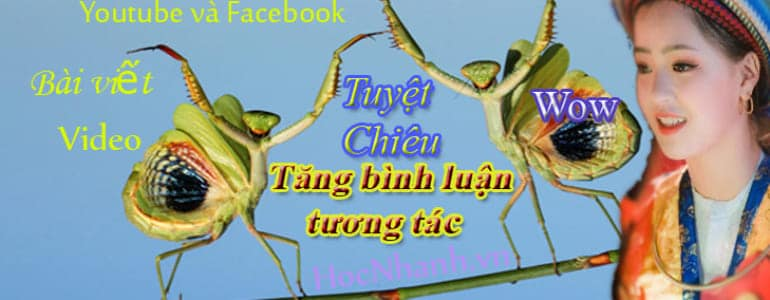 Dich Vu tang Comment Youtube Va Facebook