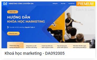 Mẫu-landingpage-Khoá học marketing